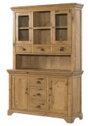 Regal Oak Buffet Hutch