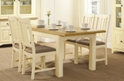 Augusta Painted Extending Dining Table with 4 chairs
