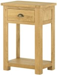 Seattle Oak Small Console Table