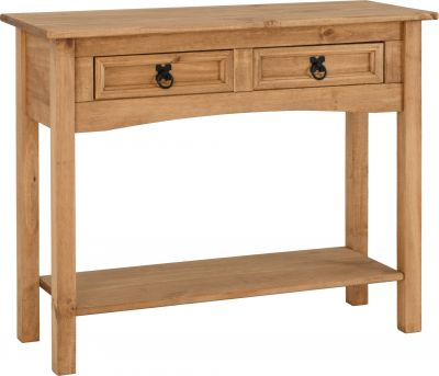 Corona Mexican console table