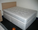 Standard Base 4 Drawer Divan with Woburn Mattress (Matching Fabric)