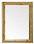 103cm x 83cm Pine Moulded Frame Wall Mirror