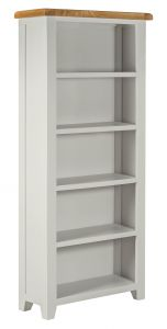 Toronto Oak and Grey Painted Large Bookcase
