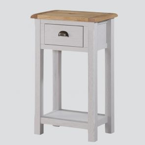 Kenmore Grey Painted Oak Medium Hall Table