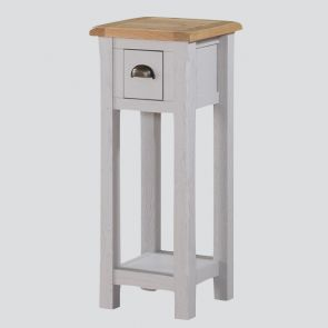 Kenmore Grey Painted Oak Telephone Table