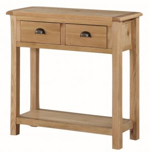 Kenmore Rustic Oak Large Hall Table