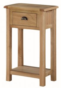 Kenmore Rustic Oak Medium Hall Table
