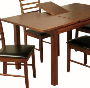 Valewood Dark Acacia Extending Dining Table