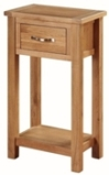 Valewood City Oak Medium Hall Table