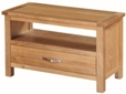 Valewood City Oak Small TV Unit