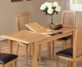Valewood City Oak Extending Dining Table