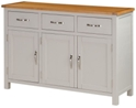 Valewood City Painted 3 Door Sideboard