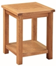 Valewood Country Oak Lamp Table