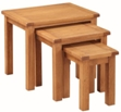 Valewood Country Oak Nest Of Tables
